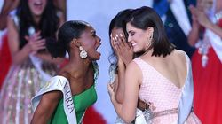 Internet Swoons Over Miss Nigeria's Thrilled Response To Pal's Miss World