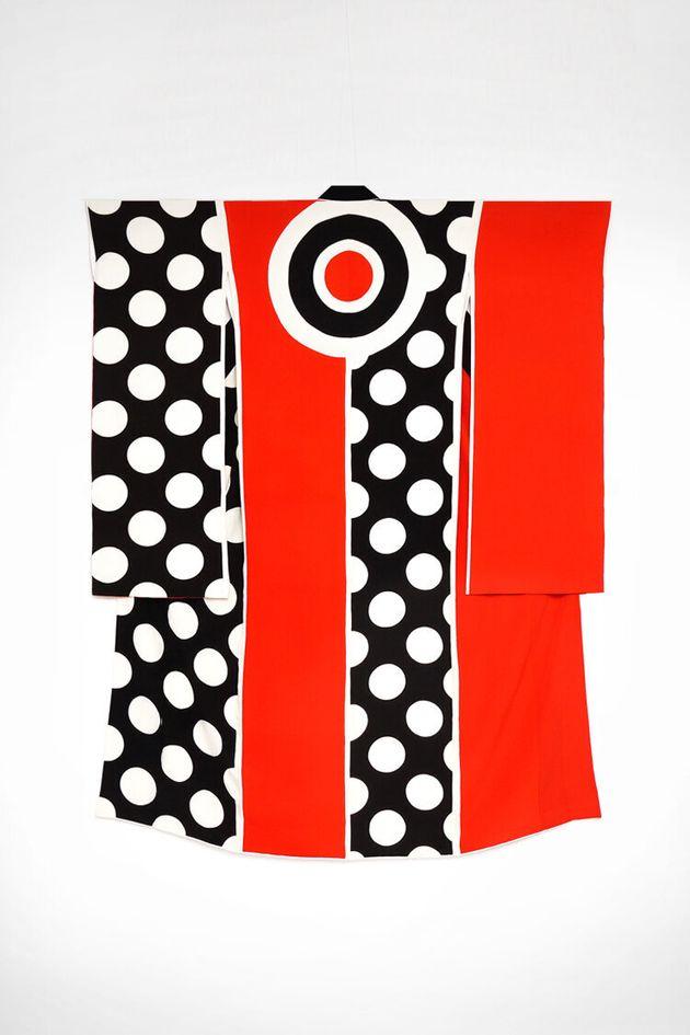 高橋理子さんのデザインした着物