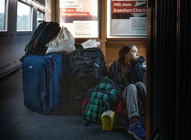 Greta fa la snob sui treni, Le ferrovie tedesche scoprono il bluff  : Aveva la prima classe .