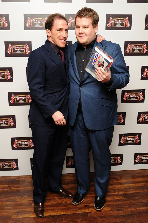 Rob and James at the British Comedy Awards in 2008