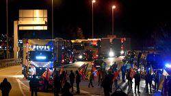 Les routiers aussi font grève et multiplient les opérations de