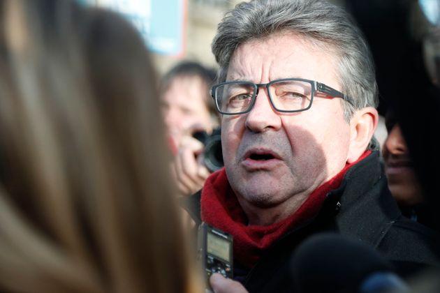 Jean-Luc Mélenchon, chef de file de La France