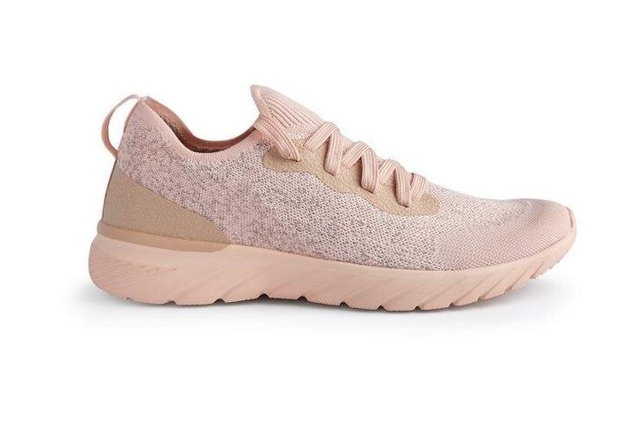 """<a href=""""https://fave.co/2EjtbZB"""" target=""""_blank"""" rel=""""noopener noreferrer"""">Pink Ombre Trainers, Primark,</a> &pound;14.99&nbsp;"""