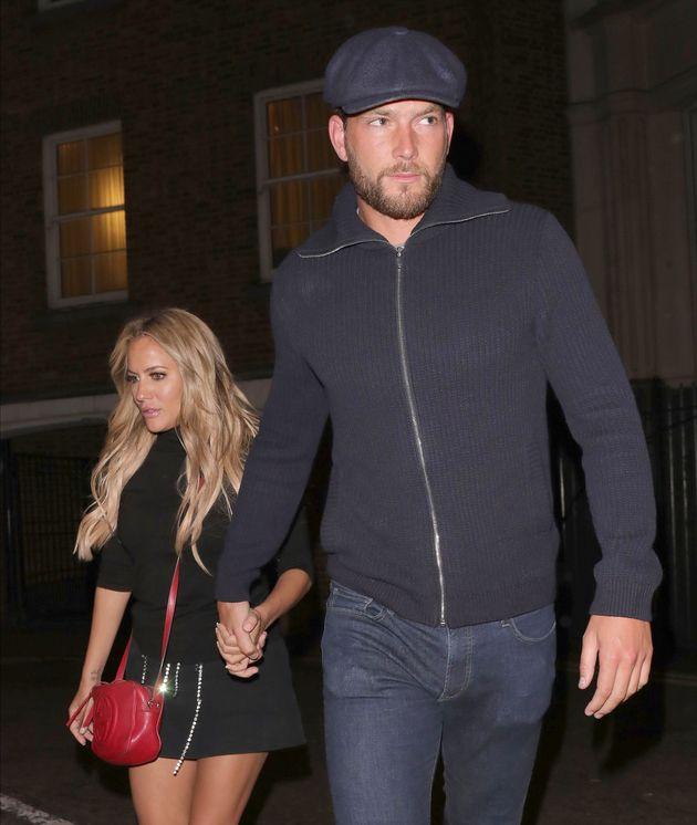 Caroline with boyfriend Lewis