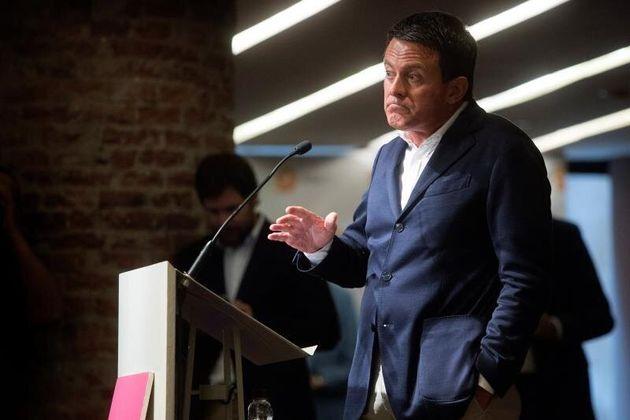 Manuel Valls registra su partido para presentarse a las elecciones