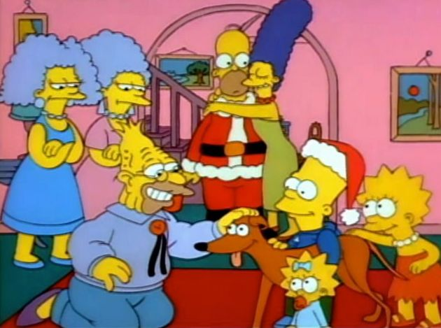 The first episode of The Simpsons debuted 30 years