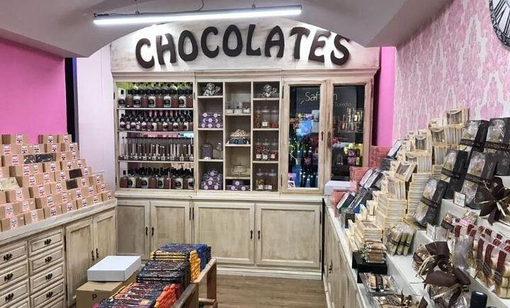 Jacinta y Chocolates en Toledo.