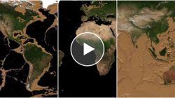 Ecco come sarebbe la Terra senza oceani. Il nostro pianeta è irriconoscibile