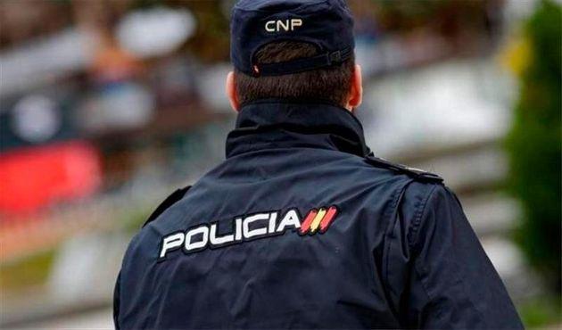 Un agente de la Policía Nacional, en una imagen de
