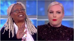 Whoopi Goldberg Can't Deal With Meghan McCain Today,