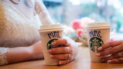 Strangers Help Brides Marry At Starbucks After Wedding Fell