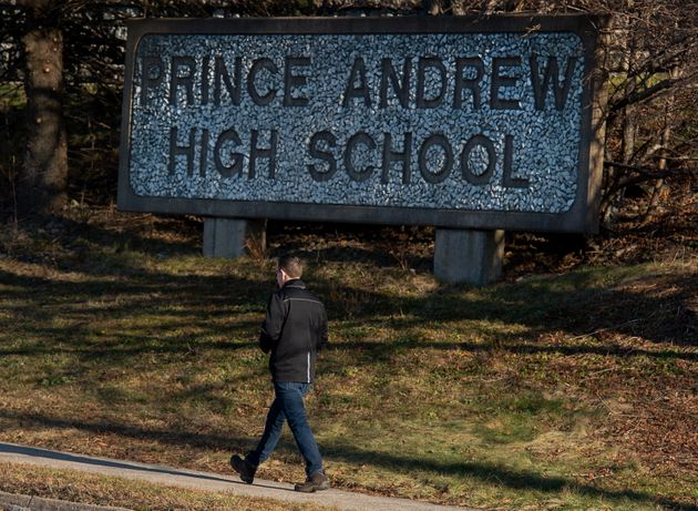 Prince Andrew High School is seen in Dartmouth, N.S. on Dec. 16,