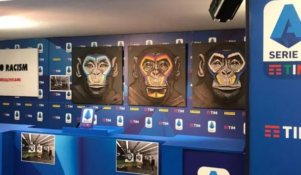 Italian football has been blighted by monkey chants and other incidents of racist abuse this