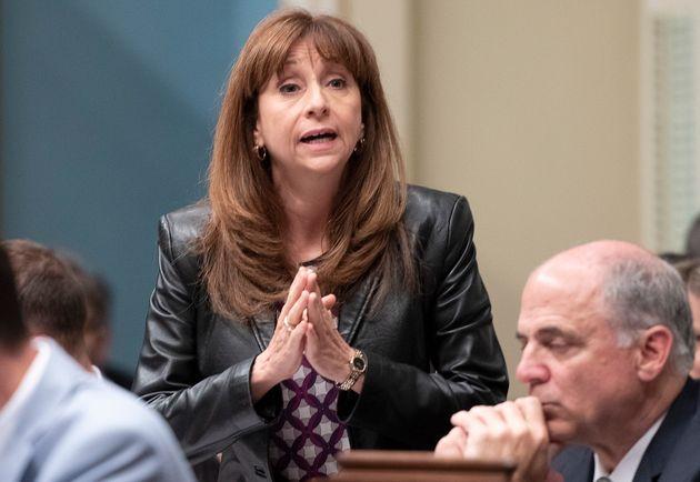 Nathalie Roy, ministre de la Culture et des Communications (photo