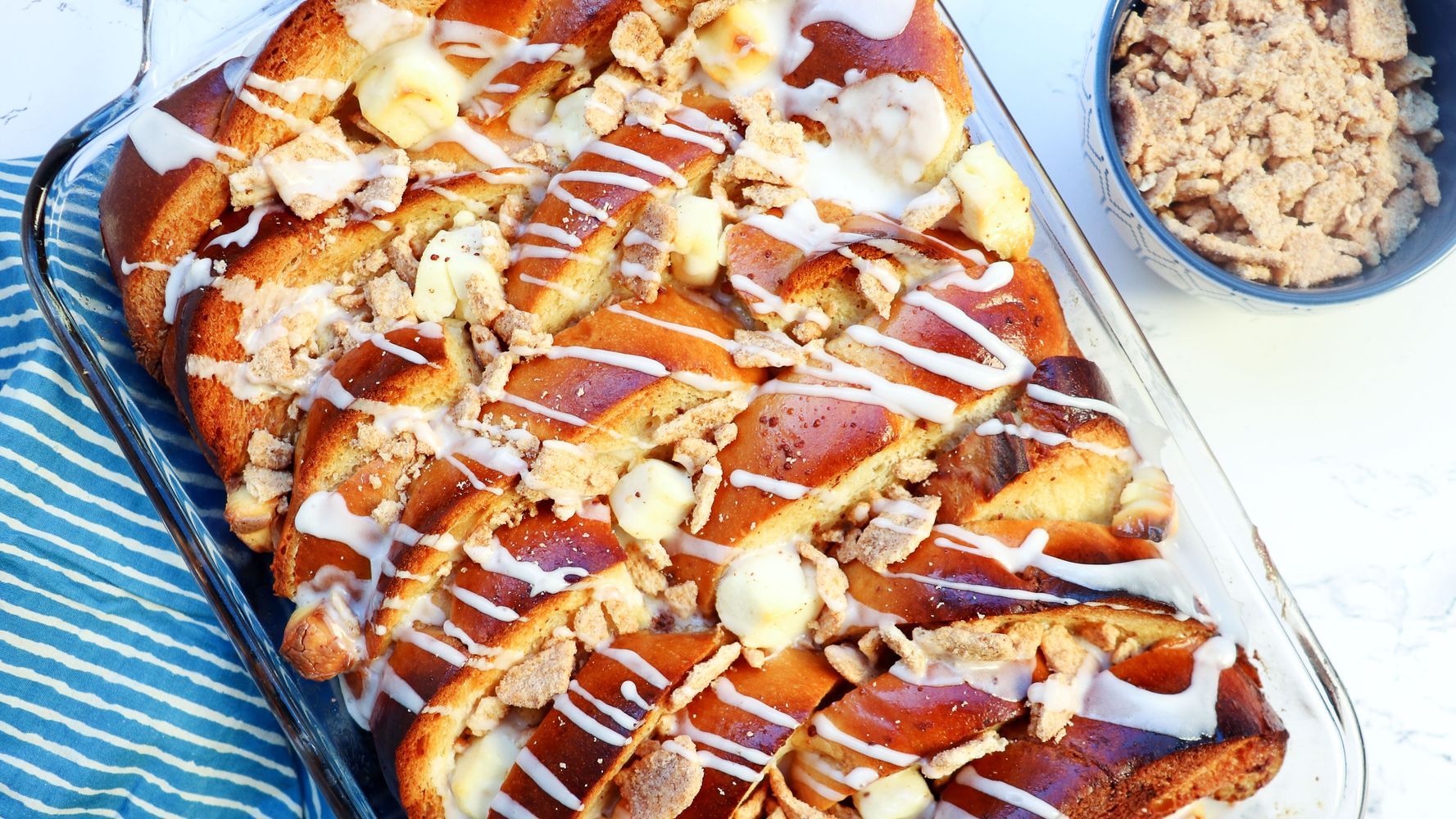 Cinnamon Bun Casserole, The Ultimate Make-Ahead Holiday Brunch