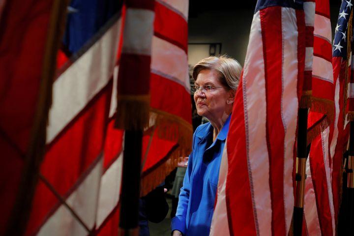 Sen. Elizabeth Warren argued in a New Hampshire speech last week that the best way to defeat President Donald Trump is to foc