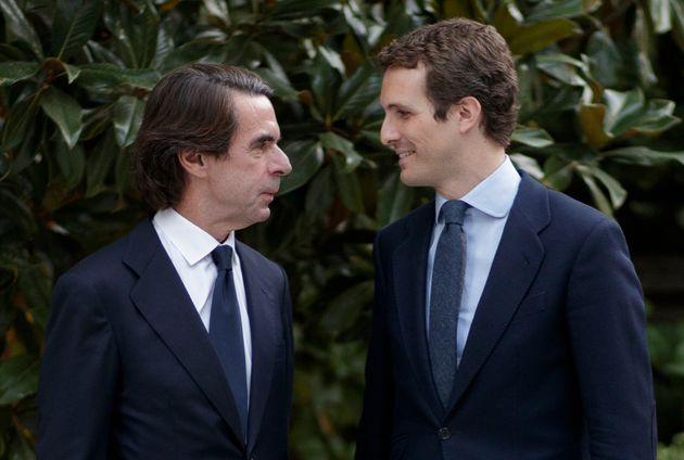 José María Aznar y Pablo