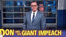 Stephen Colbert: GOP-Elefant-Maskottchen, die sich Während der Impeachment-Prozess