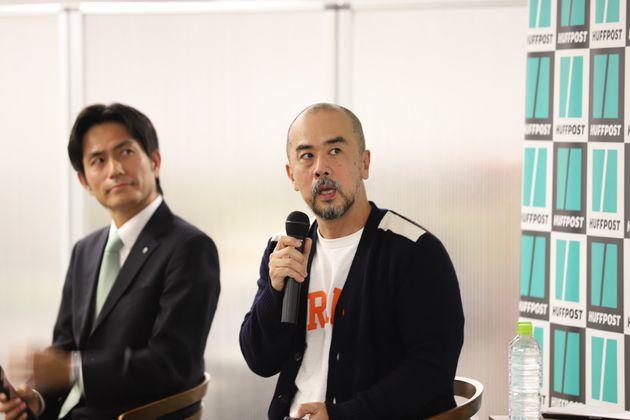 左:百田寛さん、右:安田雅彦さん