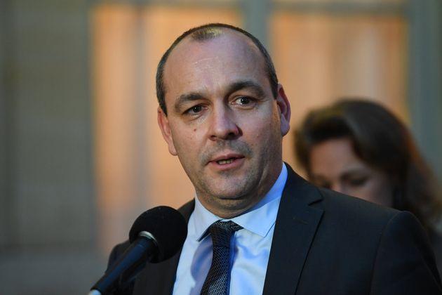 Laurent Berger, secrétaire général de la CFDT, le 25 novembre