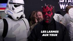 Les fans de Star Wars étaient très émus avant même d'assister à l'avant-première à Los