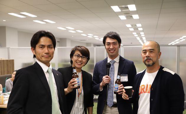 イベント終了後は、参加者と登壇者で懇親会も行なった