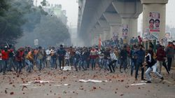 Citizenship Amendment Act Protests LIVE: Cops Lathi Charge, Fire Tear Gas At Protesters In New Delhi's