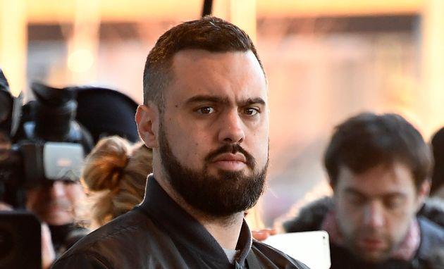 Eric Drouet lors de son procès à