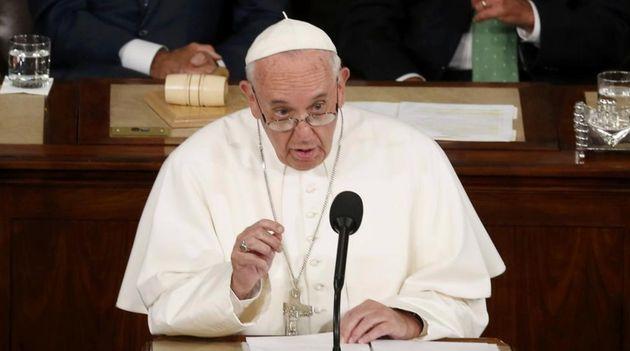 Imagen de archivo del Papa