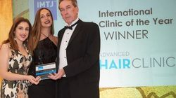 Η Advanced Hair Clinics βραβεύεται ως International Hair Clinic of the Year για τρίτη