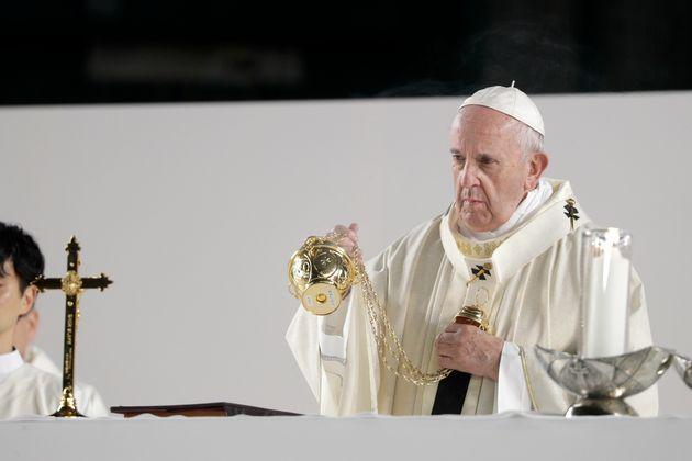Photo d'archives du pape