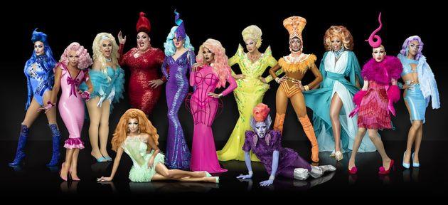 Sasha Velour, Peppermint, Trinity The Tuck... Une partie des queens révélées par l'émission
