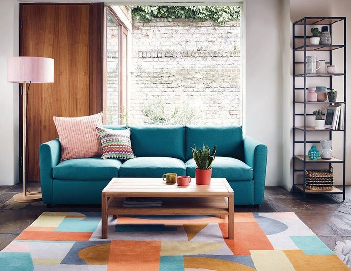 """<a href=""""https://fave.co/2PwG5tm"""" target=""""_blank"""" rel=""""noopener noreferrer"""">Morty 4 Seater Sofa Bed,</a> was &pound;1,300, now &pound;650 (50% off)&nbsp;"""