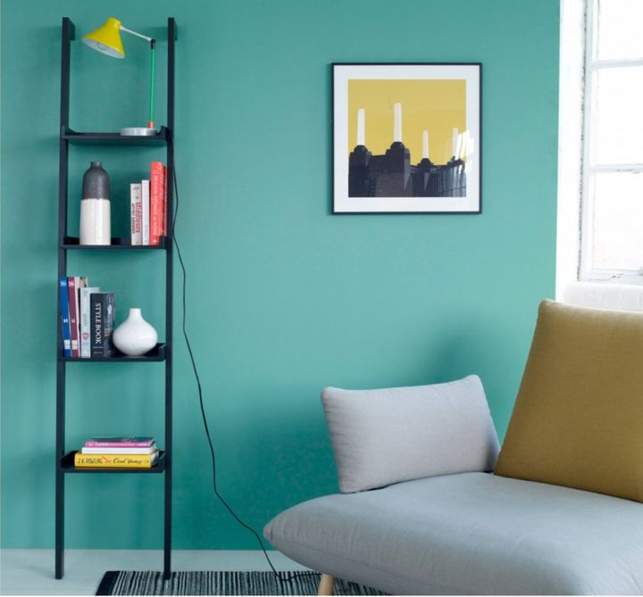 """<a href=""""https://fave.co/2M3Z5O6"""" target=""""_blank"""" rel=""""noopener noreferrer"""">Jessie Black Narrow Leaning Bookcase,</a> was &pound;85, now &pound;68&nbsp;"""