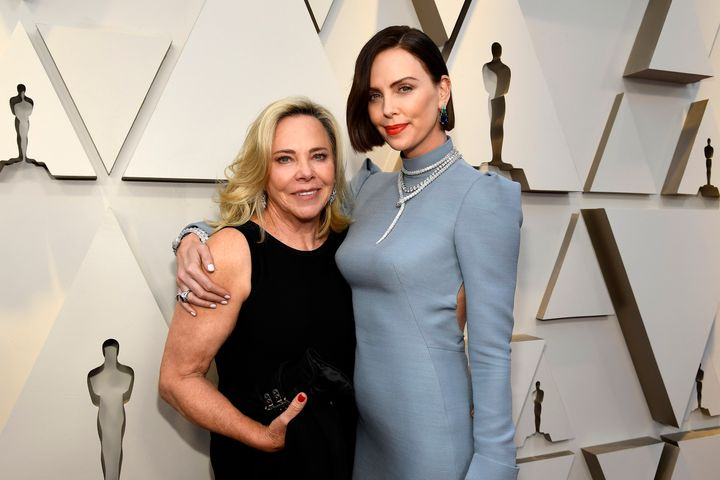 Charlize Theron attended the 2019 Oscars with her mother, Gerda.