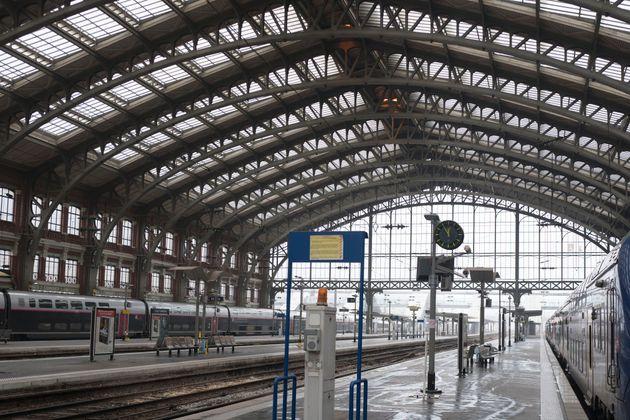 C'est devant la gare Lille-Flandres qu'un engin explosif