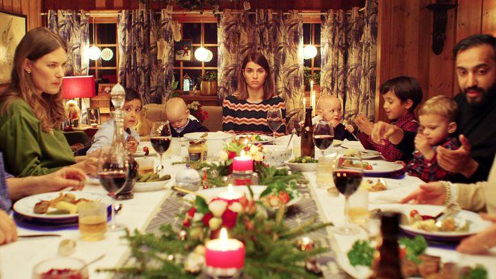Una escena de 'Navidad en casa', la serie de Netflix.