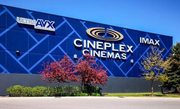 The Cineplex logo on a cinema in Oakville, Ont.. The chain's pending purchase by U.K.-based Cineworld...