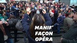L'Opéra de Paris a donné de la voix contre la réforme des