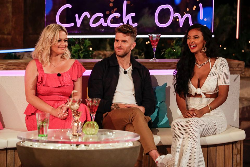 Maya Jama (right) is one of the favourites to replace