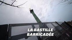 Pour éviter le fiasco de la place d'Italie, la place de la Bastille a été