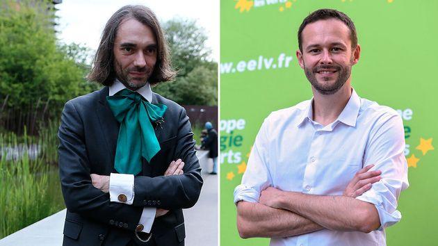 Cédric Villani (à gauche) et David Belliard vont-il s'allier en vue de remporter la mairie de Paris?...