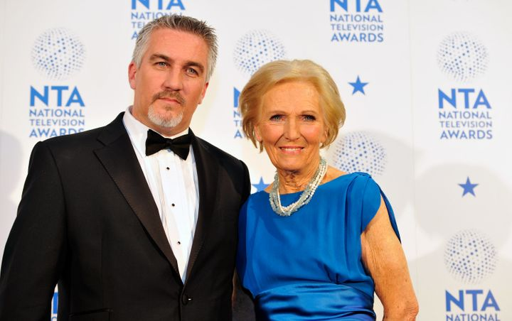 "Paul Hollywood and Mary Berry were judges on the original cast of ""The Great British Baking Show."""