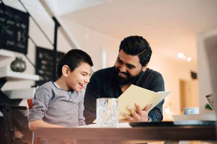 Creating a visual schedule before holiday parties can ease some anxiety kids with ASD might feel when they deviate from routine.