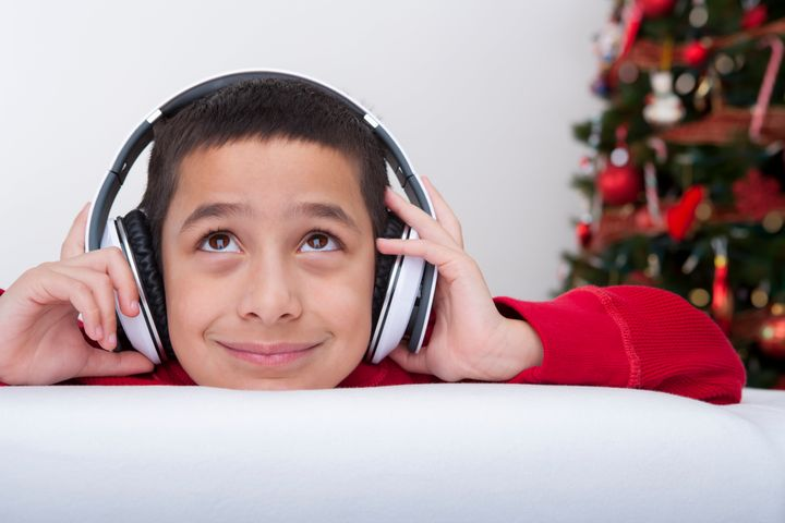 Loud noises and big crowds at holiday parties can overwhelm people with sensory sensitivities.