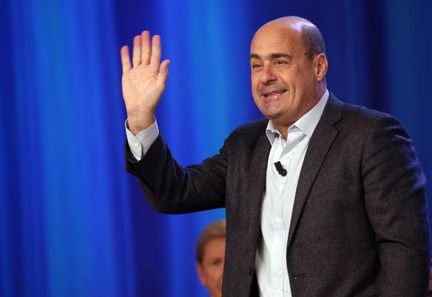 ROME, ITALY - NOVEMBER 19: Nicola Zingaretti, Secretary of the Italian Democratic Party, attends the...
