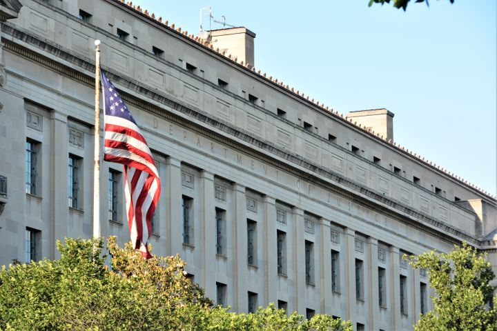 Department of Justice in Washington D.C.