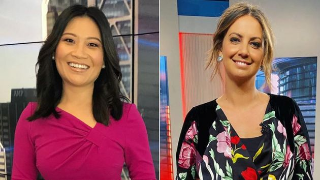 Tracy Vo (L) and Brooke Boney (R) on the Today show in