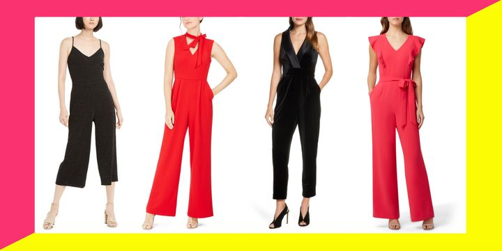 If you're a shorter lady who has been struggling to find the perfect jumpsuit, we got you covered with these petite options.