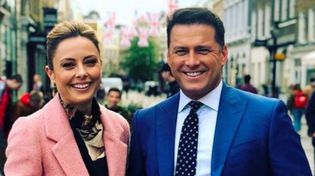 2020 Today Show hosts Allison Langdon and Karl